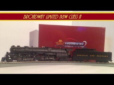 Broadway Limited Norfolk and Western Class A Review