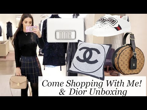 Choosing My Next Bag- Louis Vuitton, Dior Unboxing, Chanel & Harrods