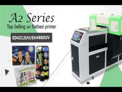 water cooling system uv flatbed printer with free RIP system
