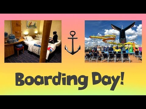 Getting our Cabin & Exploring the Ship | Carnival Paradise Cruise Vlog Day 1 [ep2]