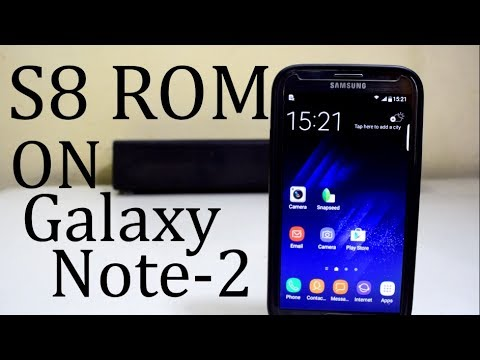 Install Galaxy S8 ROM on the Galaxy Note 2
