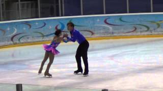 Russian test skate Rublevka 17 08 2013 Lina Fedorova - Maxim Miroshkin SP 00472