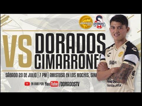 DORADOS VS CIMARRONES | EN VIVO | AMISTOSO