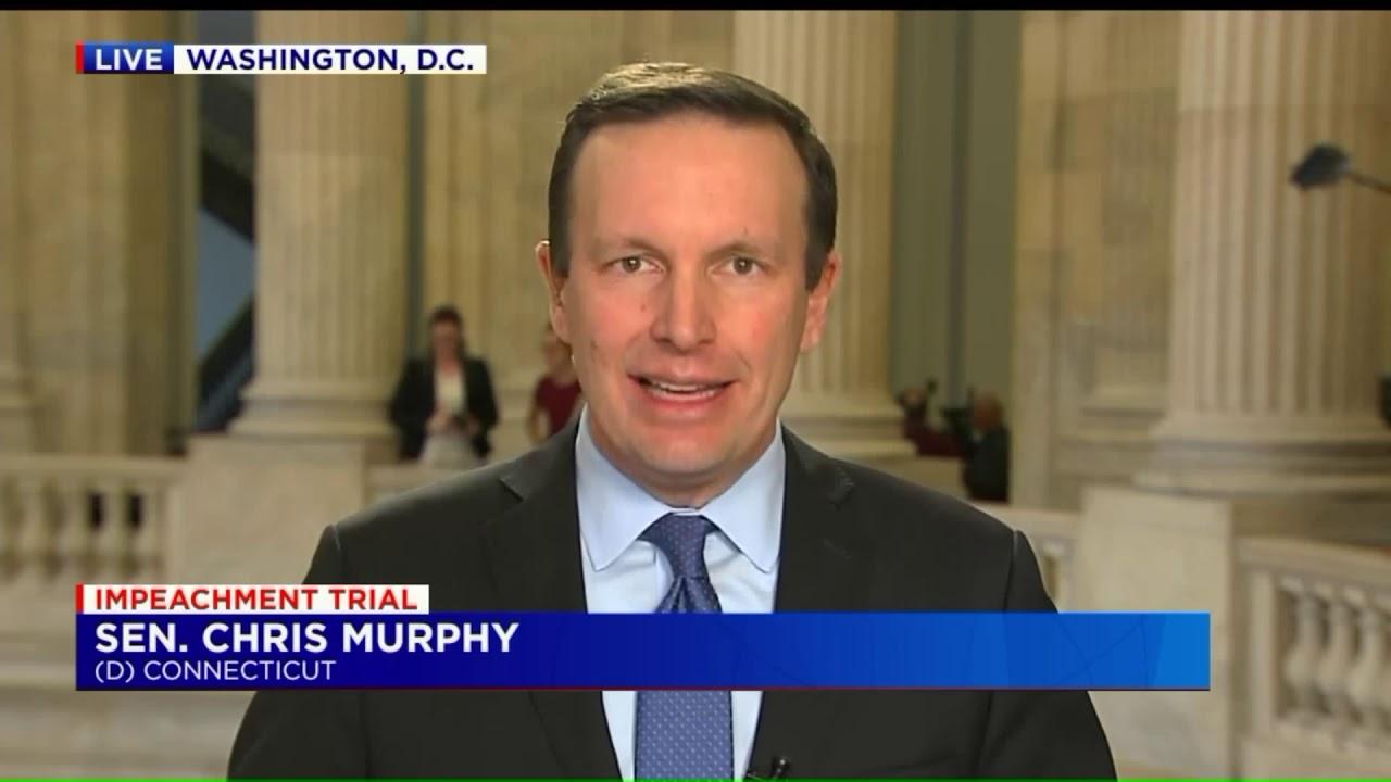 Connecticut Senator Chris Murphy Discusses Impeachment Developments Youtube