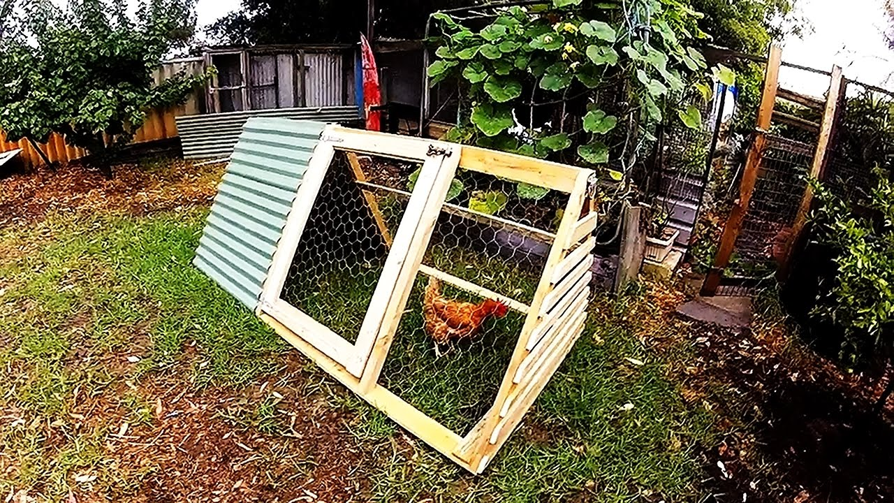 building an a frame chicken coop