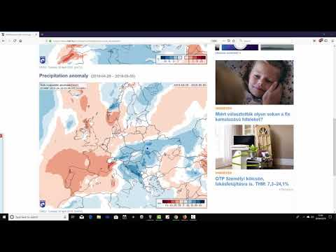 EC 30 Day Weather Forecast For UK & Europe: 29th April To 26th May 2019