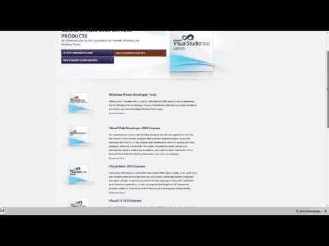 Cara Install Visual Basic 2010