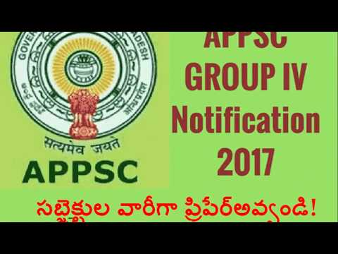 group 4 subject wise preparation plan