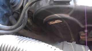 Bruit galet distribution 406 HDI