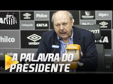 A PALAVRA DO PRESIDENTE JOSÉ CARLOS PERES