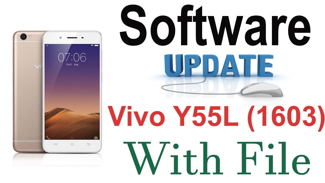 Vivo Y55L 1603 Software Update With Tested File And Flashing