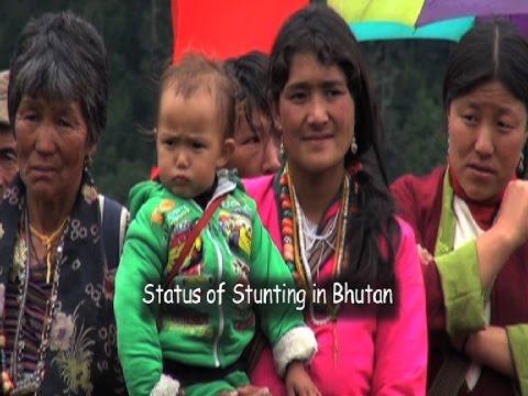 Status of stunting in Bhutan