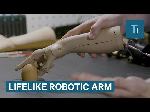 This Lifelike Robotic Arm Gets Smarter Over Time