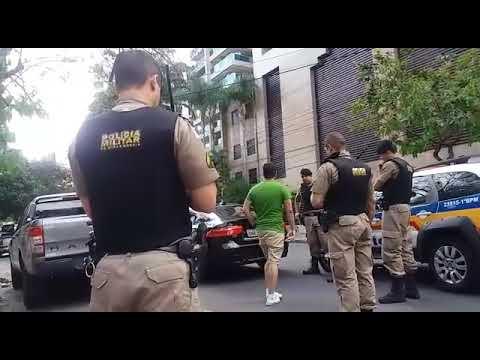 Motorista de Jaguar é preso por suspeita de embriaguez no Bairro Lourdes