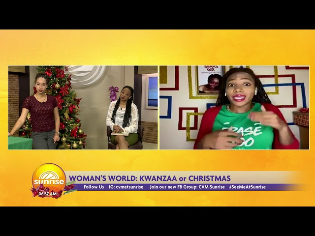 Is it Kwanzaa  or Christmas | Sunrise: A Woman's World | CVMTV