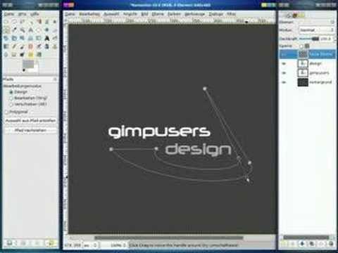 GIMP Tutorial Design a Logo