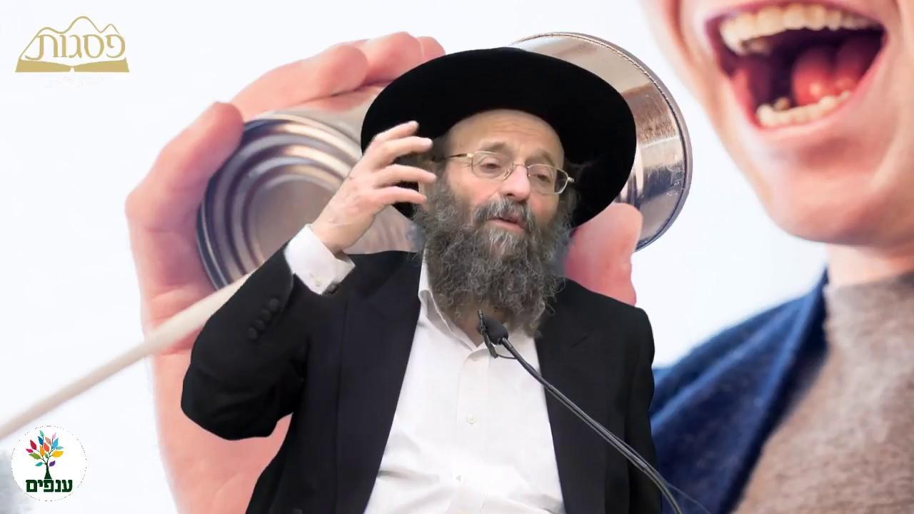 כח הדיבור - הרב יצחק גולדווסר HD