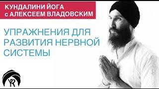 Кундалини йога с Алексеем Владовским: Упражнения для развития нервной системы