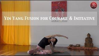 Yin Yang Fusion for Courage & Initiative