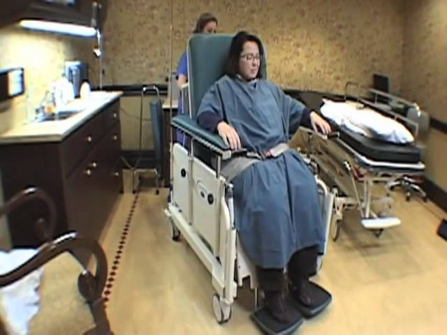 Winco Stretchair Patient Transport Chair