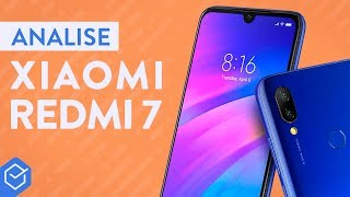 XIAOMI REDMI 7 vale a pena? | Análise / Review Completo