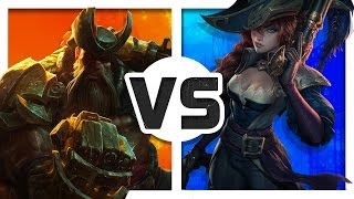 Gangplank vs Miss Fortune (Rap Battle) ft. Lunity