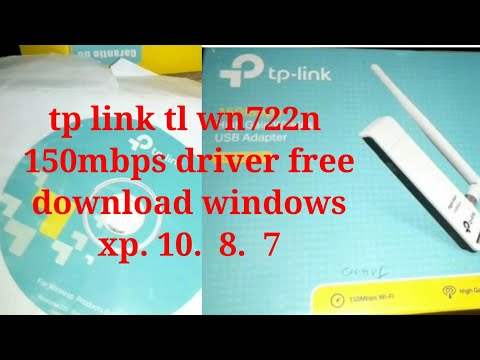 Tp Link Tl Wn722n  150mbps Driver Free  Download Windows   Xp. 10.  8.  7 تثبيت وايرليس