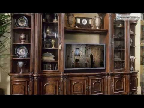 Villagio Entertainment Collection From Aico Furniture
