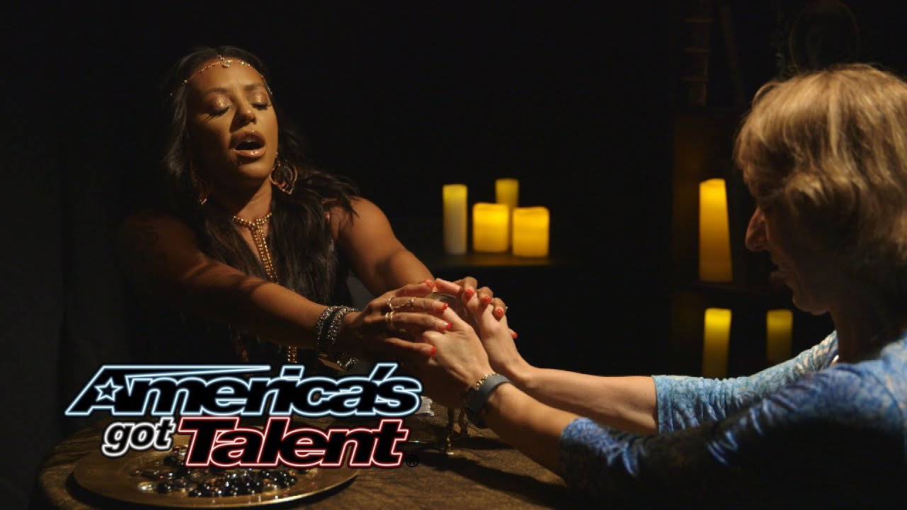 Mel B Pranks the Audience as Psychic Spice - America's Got Talent ...