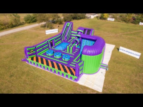Airquee's Inflatable Theme Park Jump 360 Stockton
