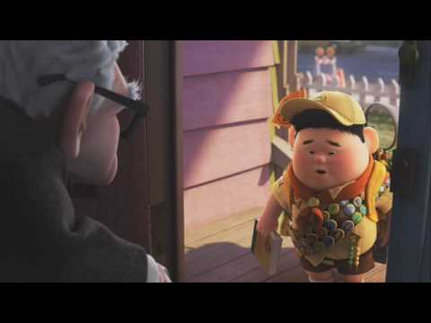 Up Meet Russell Official Disney Pixar Uk Youtube