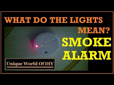 First alert smoke alarm beeping 5 times
