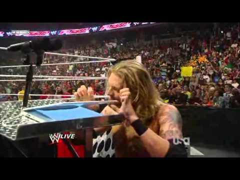 WWE Monday Night Raw 06 September 2010   Edge Vs The Great Khali