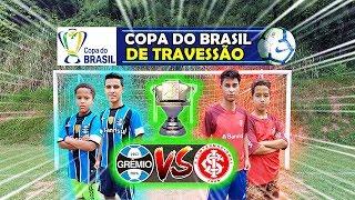 FINAL ÉPICA! COPA DO BRASIL TRAVESSÃO GRÊMIO vs INTER DESAFIOS DE FUTEBOL 2020 ‹ Rikinho ›