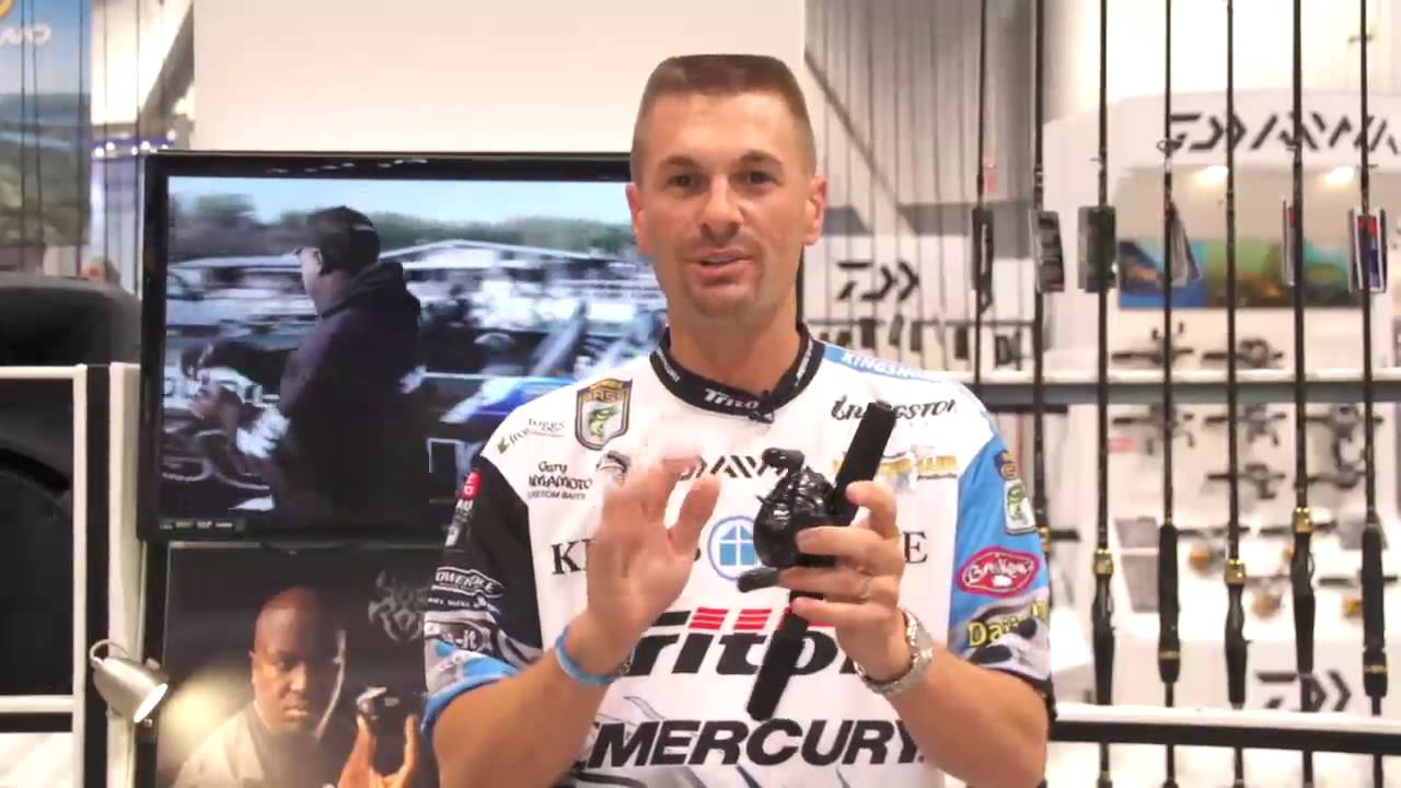 Daiwa Tatula & Tatula Type-R Casting Reels with Randy Howell | ICAST 2013