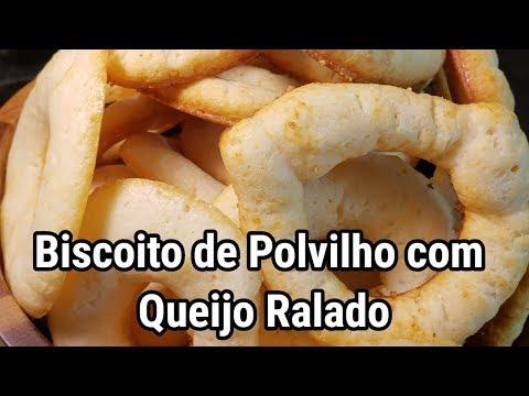 Biscoito de Polvilho com Queijo Ralado, excelente para um cafezinho.