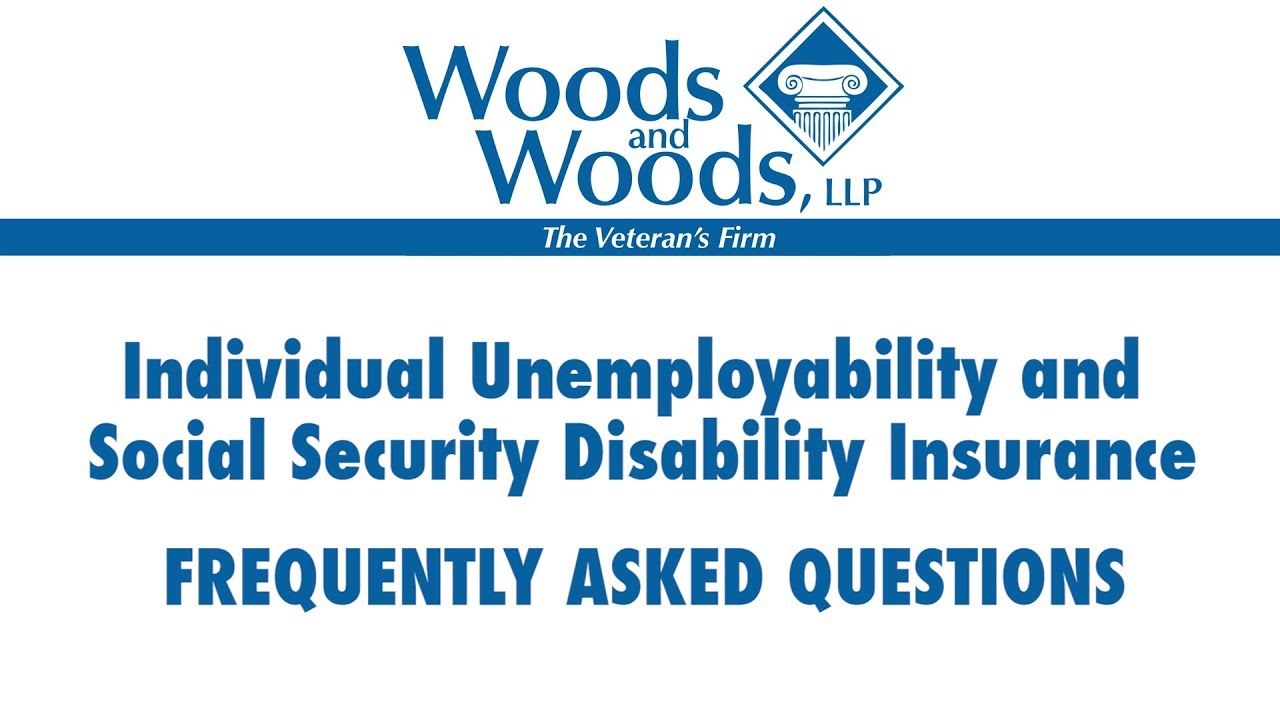 Can I get both Individual Unemployability and Social