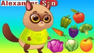 Мультик про Котика Bubbu #11 Играем в котенка Бубу Мультфильмы для детей - виртуальный питомец Бубу