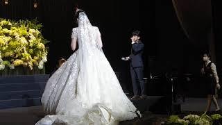 윤승휘강연지결혼식 박무…