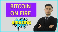 BITCOIN ON FIRE ! - Crypto Market Trading Analysis & Cryptocurrency News