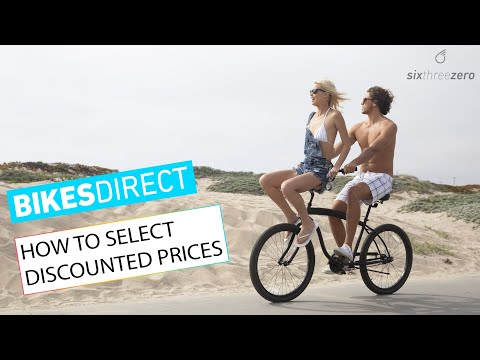 BikesDirect: How To Select Discounted Prices