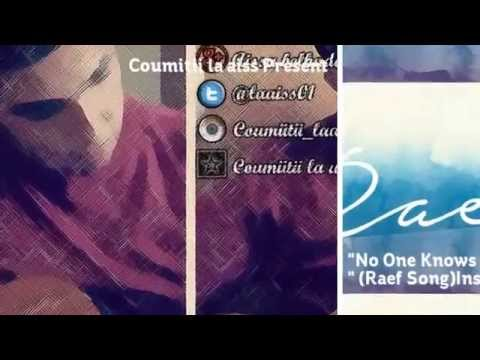 No One knows But Me - Instrumental Acoustic Version -( RaefSong ) By Coumiitii La aiss