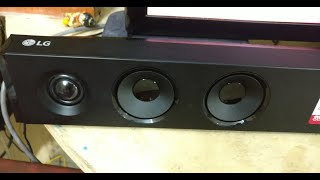LG SJ3 300W Wireless Dolby DTS Bluetooth Sound bar UNBOXING | LG SJ3 SOUNDBAR DOLBY DTS SOUND TEST
