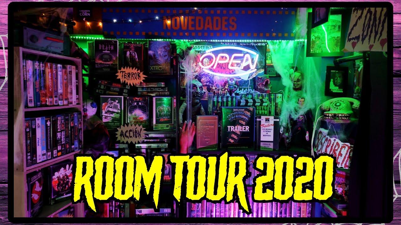 Os muestro MI VIDEOCLUB al completo y la NUEVA HABITACIÓN de LOSENDO | ROOM TOUR 2020