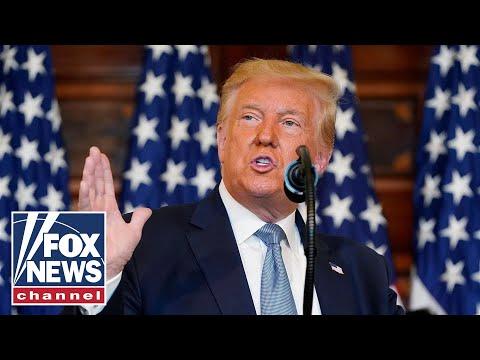 Trump delivers remarks at Operation Warp Speed Summit