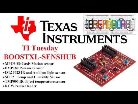 TI Tuesday - BOOSTXL SENSHUB - Sensors Galore