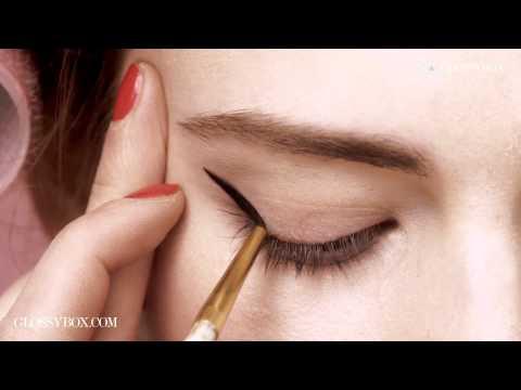 GLOSSYBOX -- Retro Eyeliner Look