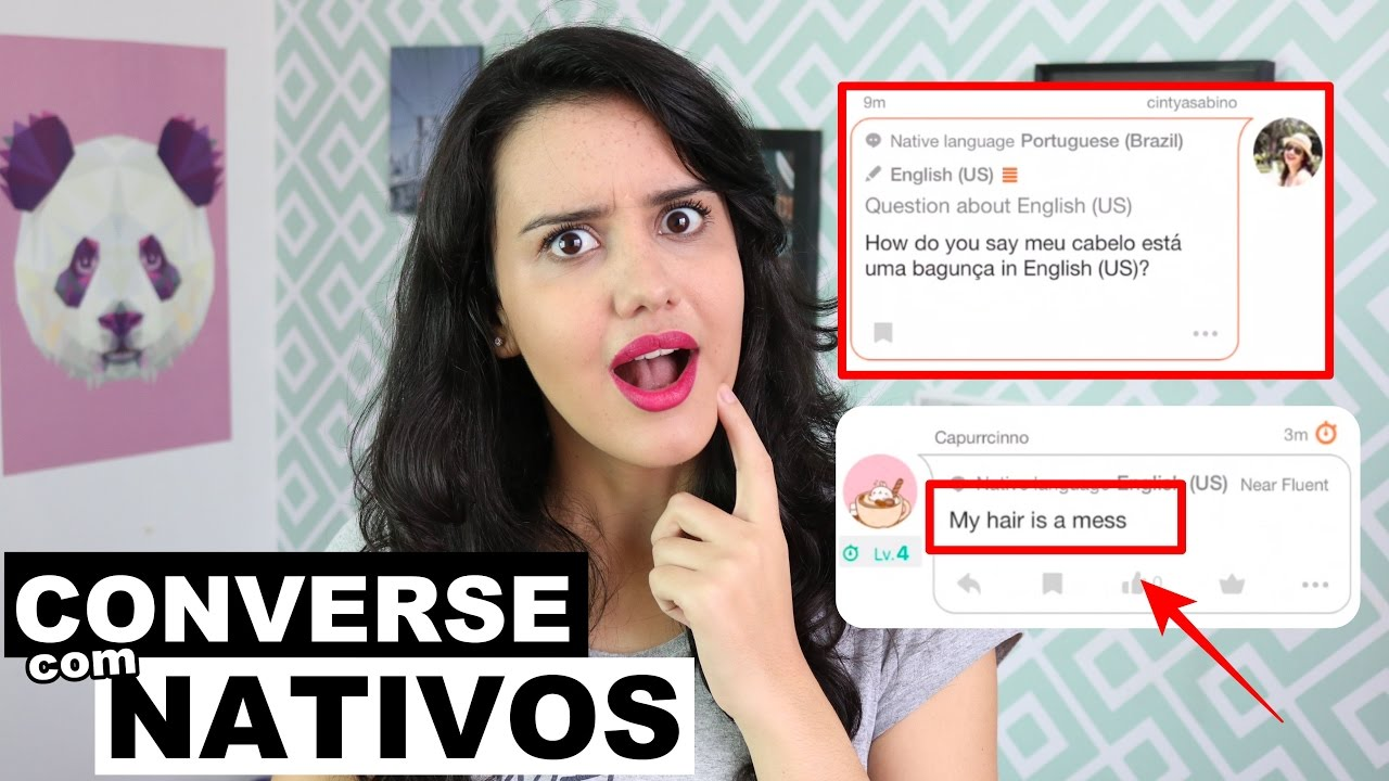 CONVERSE EM INGLÊS COM NATIVOS DE GRAÇA!