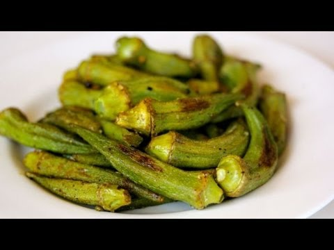How-To Roast Okra  (Aka Okra Fries)