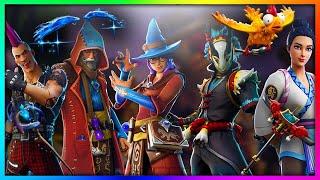 """LEAKED """"Taro, Riot & Castor!"""" NEW Legendary Skins in Fortnite: Battle Royale SEASON 6!"""